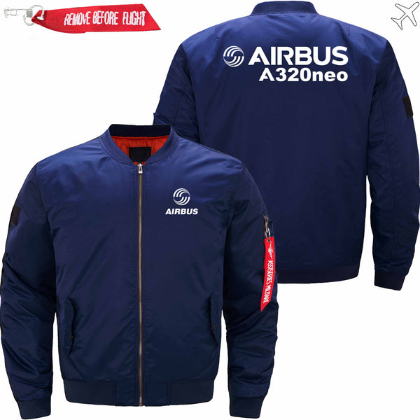 PilotX Jacket Dark blue thick / S Airbus A320neo Jacket -US Size