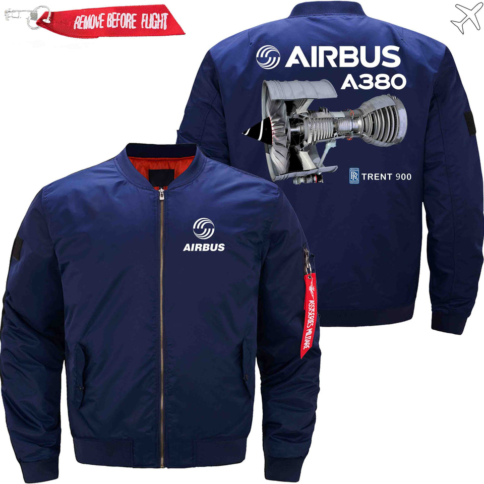 PilotX Jacket Dark blue thin / S Airbus A380 TRENT 900 Jacket -US Size