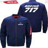 PilotX Jacket Dark blue thin / S B 717 Jacket -US Size