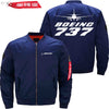 PilotX Jacket Dark blue thin / S B 737 Jacket -US Size