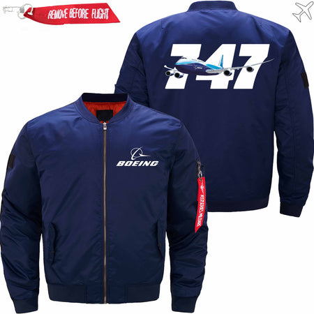PilotX Jacket Dark blue thick / S B 747 Jacket -US Size