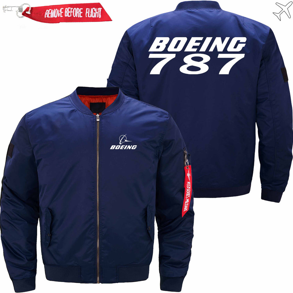 PilotX Jacket Dark blue thin / S B 787 Jacket -US Size