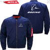 PilotX Jacket Dark blue thin / S B LOGO Jacket -US Size