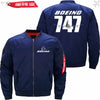 PilotX Jacket Dark blue thin / S New The 747 Jacket -US Size