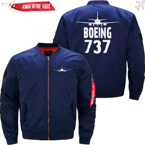 PilotX Jacket Dark blue thin / S The 737 Jacket -US Size