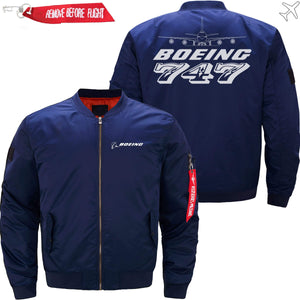 PilotX Jacket Dark blue thin / S The 747 Jacket -US Size
