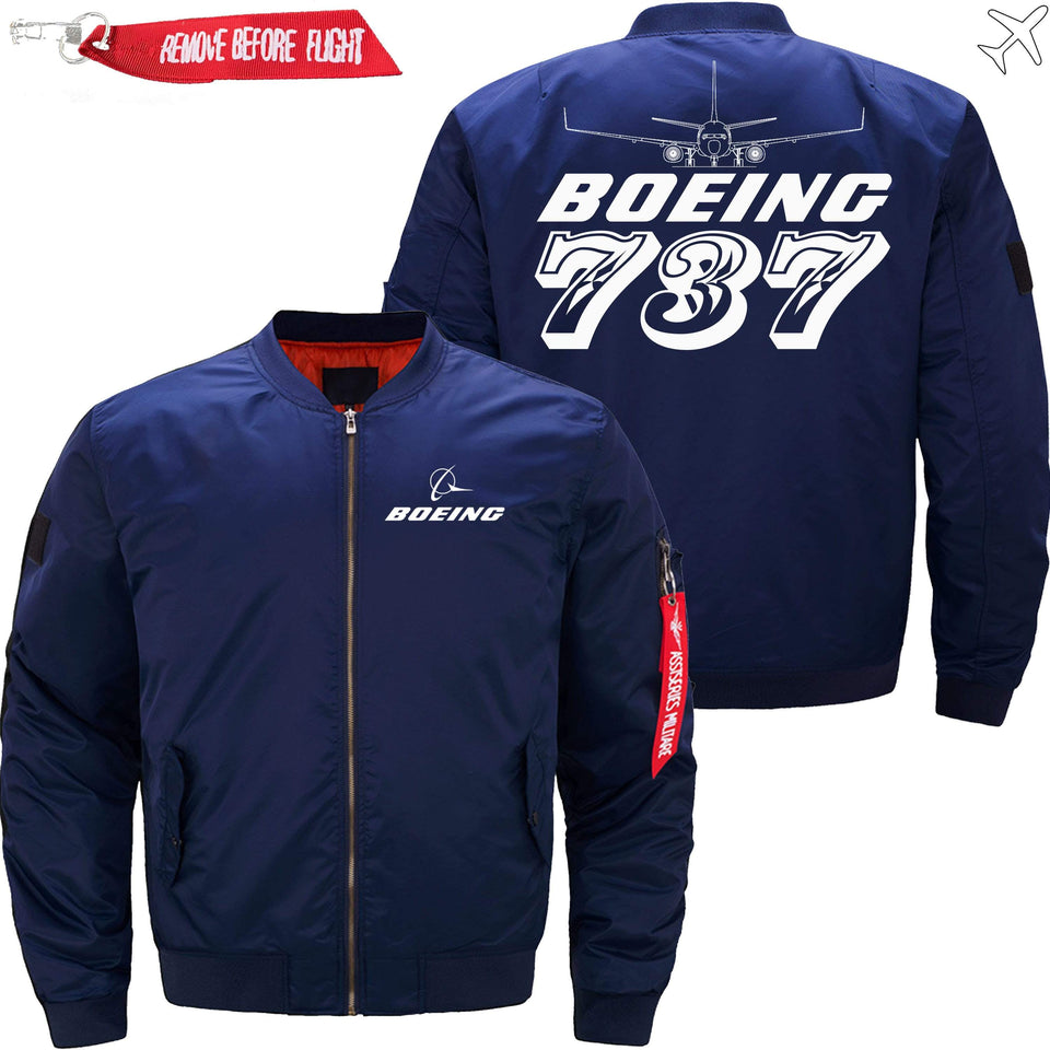 PilotX Jacket Dark blue thin / S The 787 Jacket -US Size