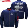 PilotX Jacket Dark blue thin / XS Airbus A330 Neo Trtent 7000 Jacket -US Size