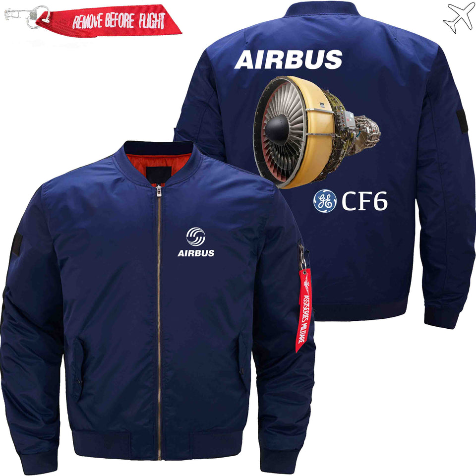 PilotX Jacket Dark blue thin / XS Airbus & CF6 Jacket -US Size