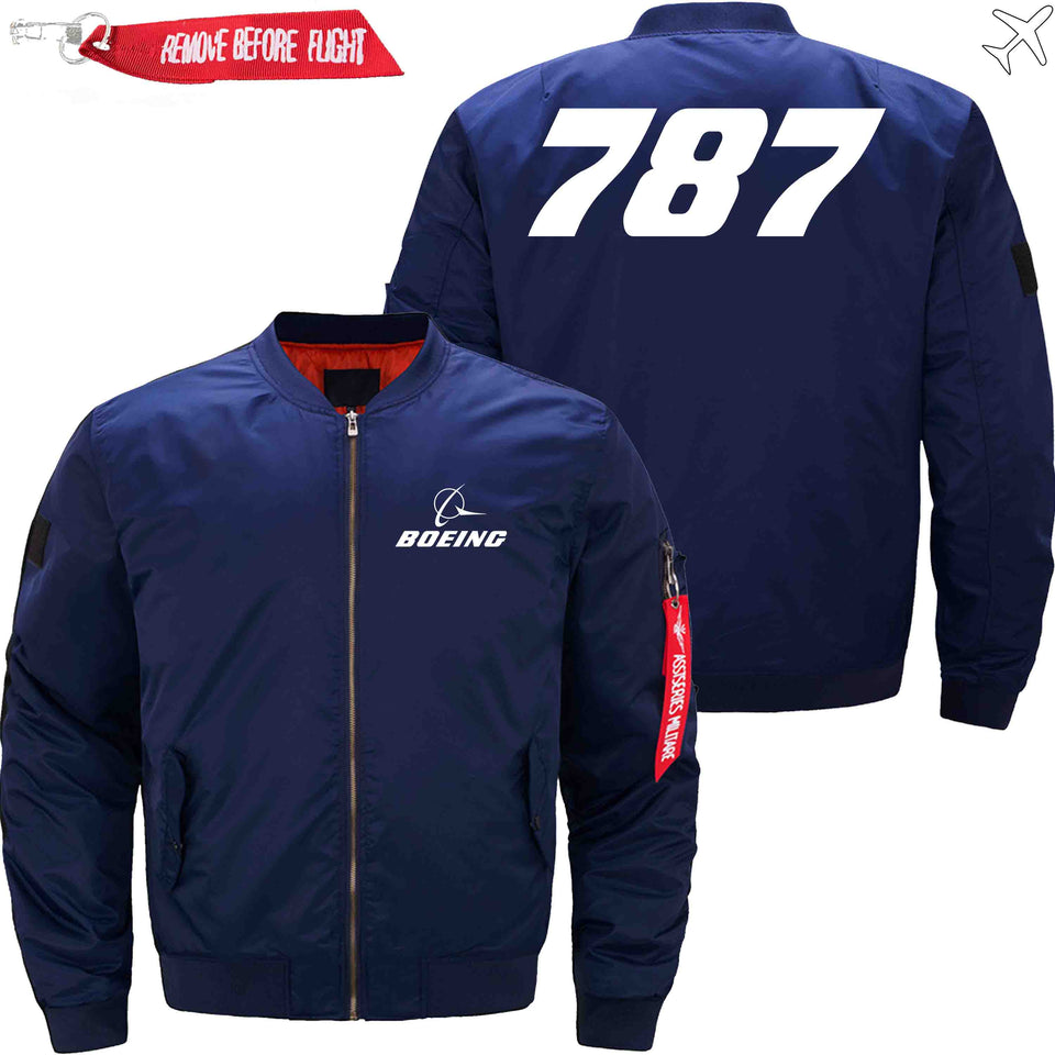 PilotX Jacket Dark blue thin / XS B 787 Jacket -US Size