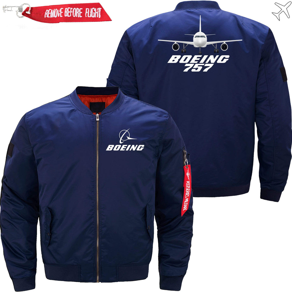PilotX Jacket Dark blue thin / XS Boeing 757 -US Size