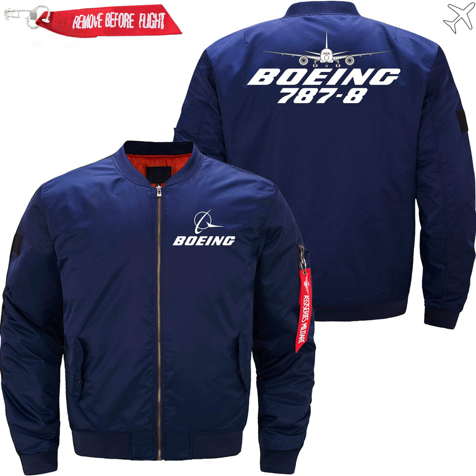 PilotX Jacket Dark blue thin / XS Boeing 787-8 -US Size