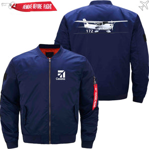 PilotX Jacket Dark blue thin / XS CESSNA 172 Jacket -US Size