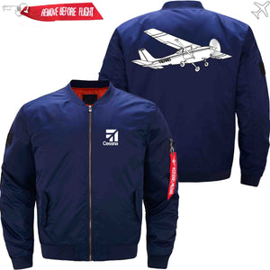 PilotX Jacket Dark blue thin / XS CESSNA Jacket -US Size