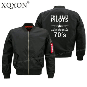 PilotX Jacket The best pilots are born in 70's Jacket -US Size