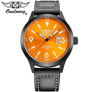 PilotX Orange F-88 Air Fighter Pilot Watch