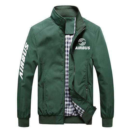 PilotX Summer Jacket Army green / S Airbus Logo