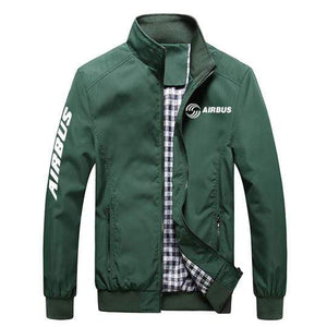 PilotX Summer Jacket Army green / S Airbus New Logo