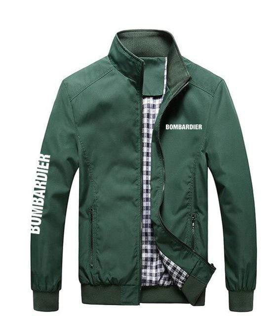 PilotX Summer Jacket Army green / S Bombardier