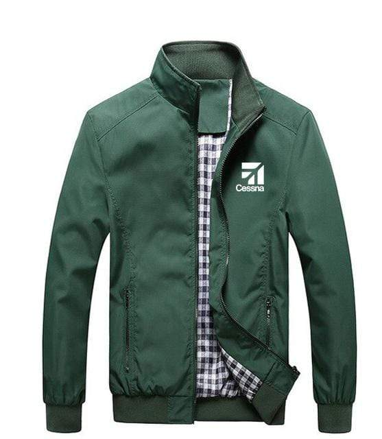 PilotX Summer Jacket Army green / S Cessna