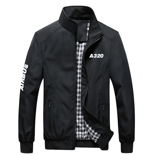 PilotX Summer Jacket Black / S Airbus 320