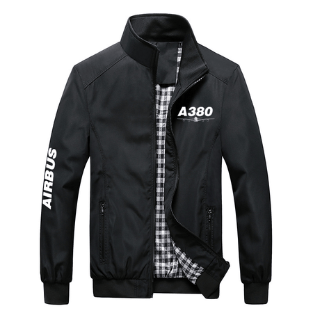 PilotX Summer Jacket Black / S Airbus 380