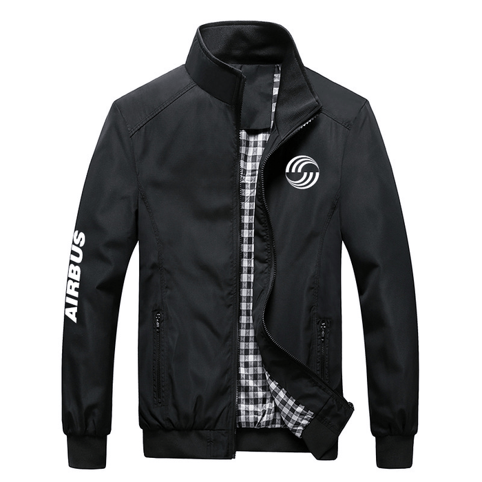 PilotX Summer Jacket Black / S Airbus Logo