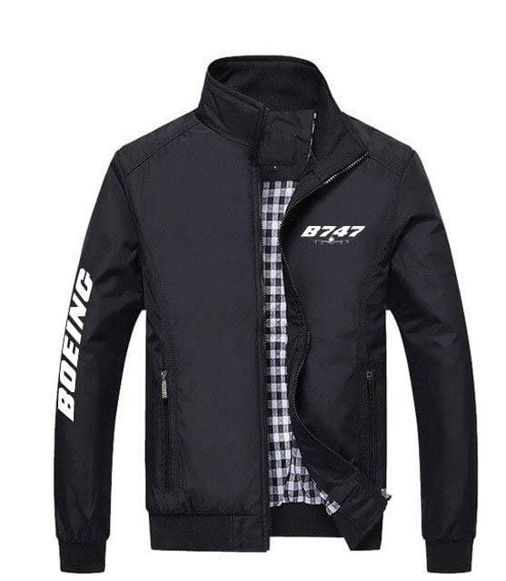PilotX Summer Jacket Black / S Boeing 747