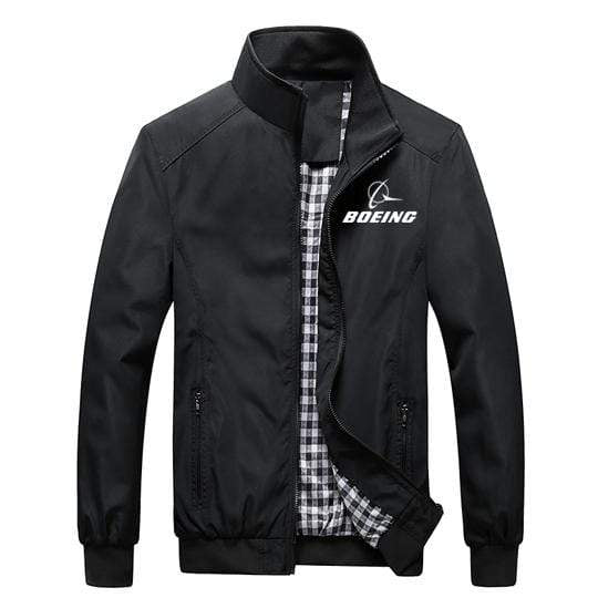 PilotX Summer Jacket Black / S Boeing Logo
