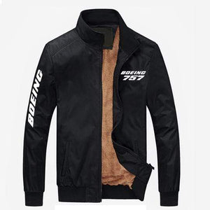 PilotX Summer Jacket Black thick / S Boeing 757