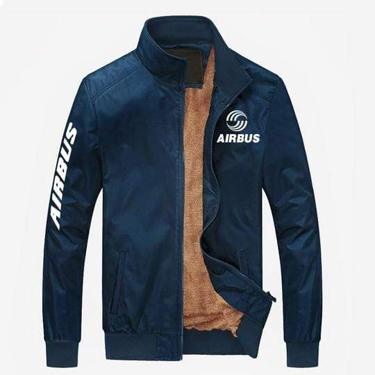 PilotX Summer Jacket Blue thick / S Airbus Logo