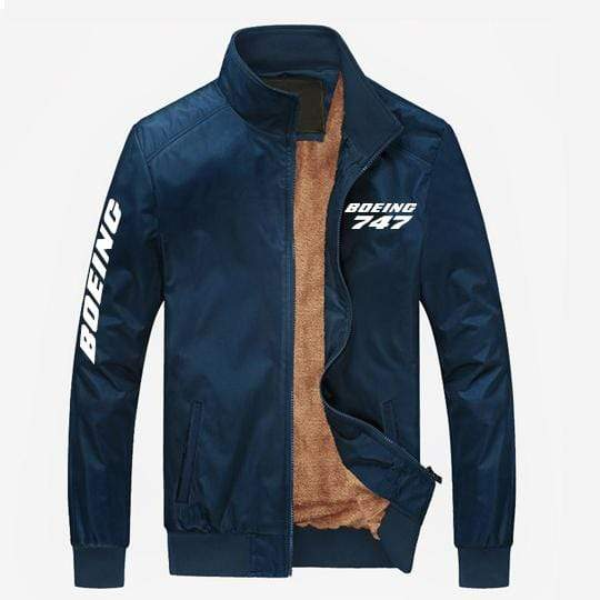 PilotX Summer Jacket Blue thick / S Boeing 747