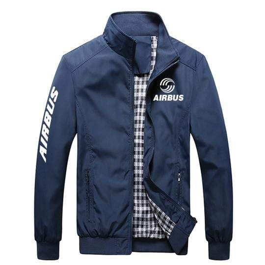PilotX Summer Jacket Black thick / S Airbus Logo