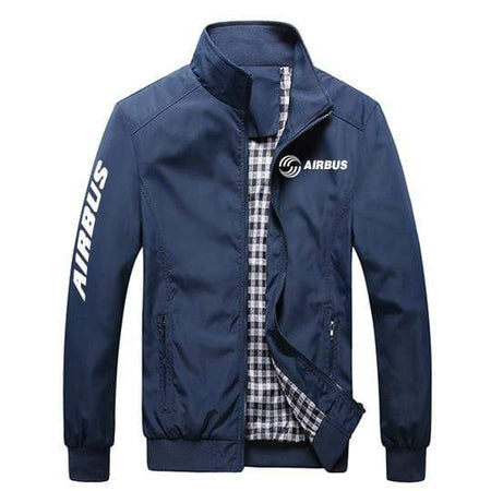PilotX Summer Jacket Black thick / S Airbus New Logo