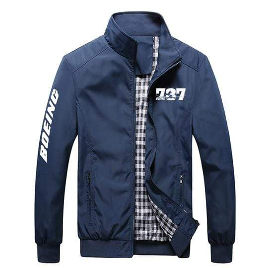 PilotX Summer Jacket Black thick / S Boeing 737