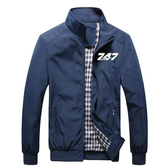 PilotX Summer Jacket Black thick / S Boeing 747