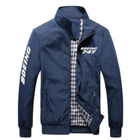 PilotX Summer Jacket Dark blue / S Boeing 747