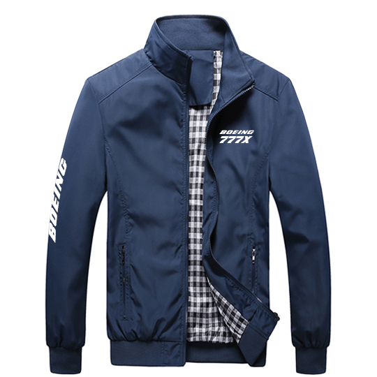 PilotX Summer Jacket Black thick / S Boeing 777X