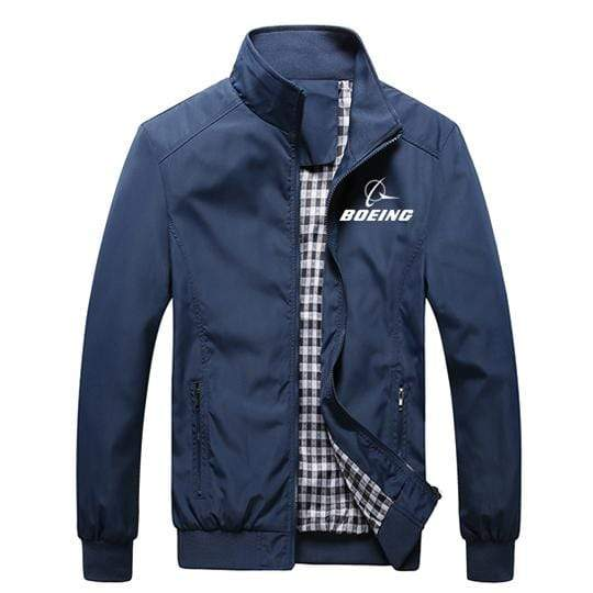 PilotX Summer Jacket Black thick / S Boeing Logo