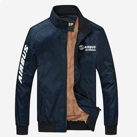 PilotX Summer Jacket Dark blue thick / S Airbus A320neo