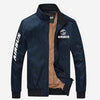 PilotX Summer Jacket Dark blue thick / S Airbus Logo