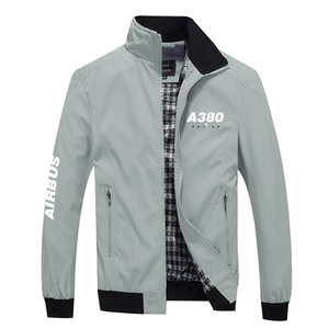 PilotX Summer Jacket Gray / S Airbus 380
