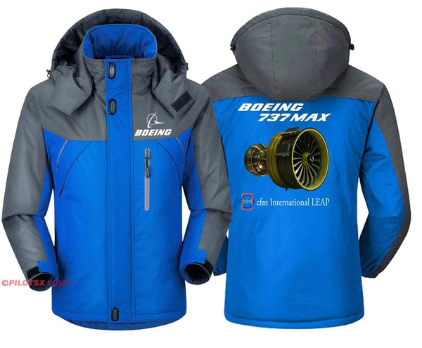 PilotX Windbreaker Jackets Boeing 737 MAX Engine Jacket