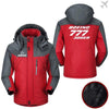 PilotX Windbreaker Jackets Red Gray / M Boeing 777-300ER Jacket