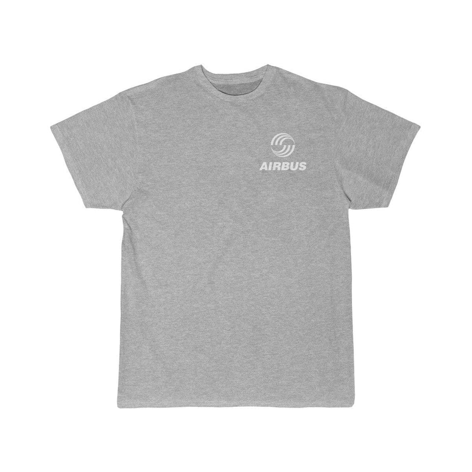 Printify T-shirt Athletic Heather / S Airbus Logo