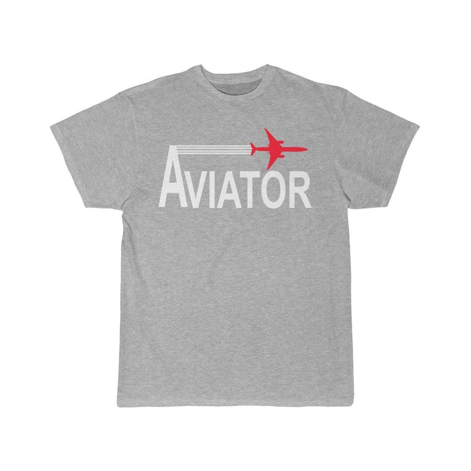 Printify T-shirt Athletic Heather / S Aviator Designed T-Shirts