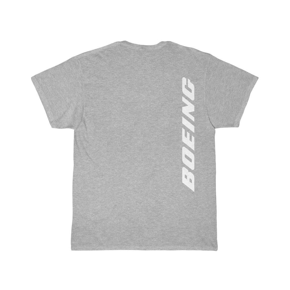 Printify T-shirt Athletic Heather / S Boeing