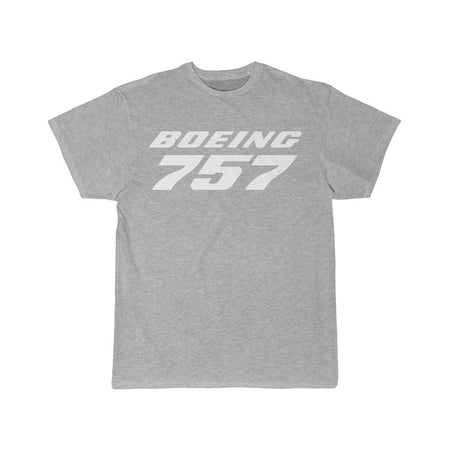 Printify T-shirt Red / S BOEING 757