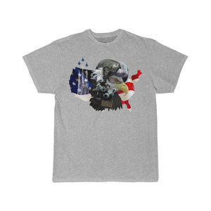 Printify T-shirt Athletic Heather / S Eagle Pilot
