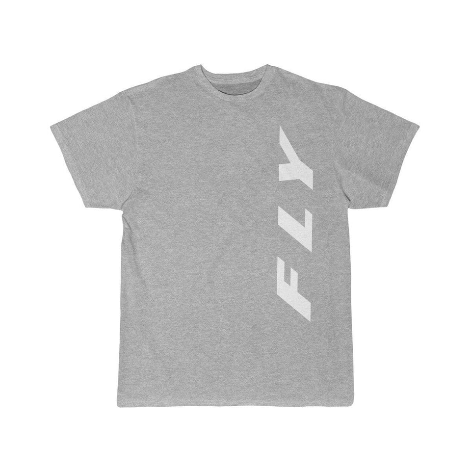 Printify T-shirt Athletic Heather / S FLY